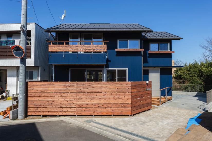 木塀 岡庭建設 とおりみちの家/注文住宅