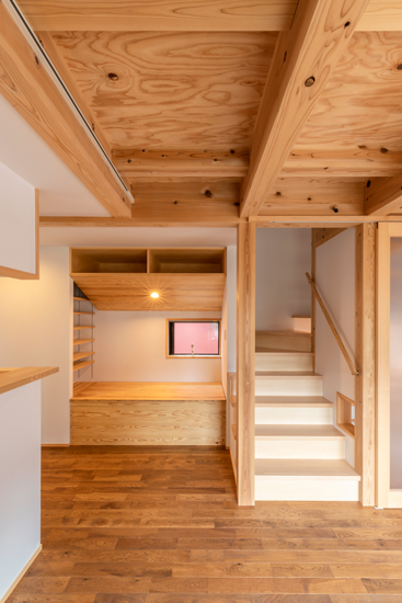 ねいここの家 施工事例 西東京市 階段
