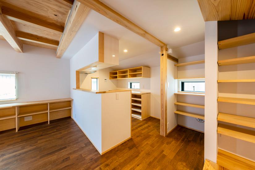 ねいここの家 施工事例 西東京市 キッチン