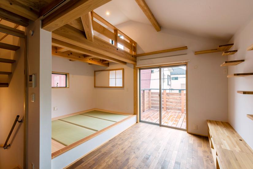 ねいここの家 施工事例 西東京市 小上がり畳 和室