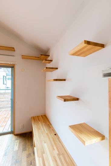 ねいここの家 施工事例 西東京市 キャットウォーク 愛猫