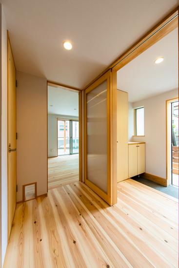 ねいここの家 施工事例 西東京市 玄関