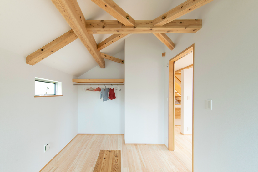 正方の家 施工事例 西東京市 居室 寝室