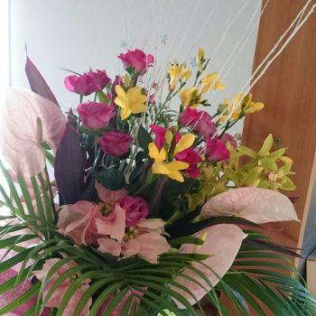生まれて初めての大きな花束