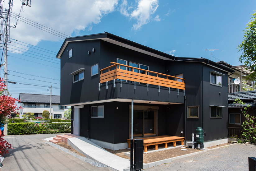 施工事例 二世帯住宅1