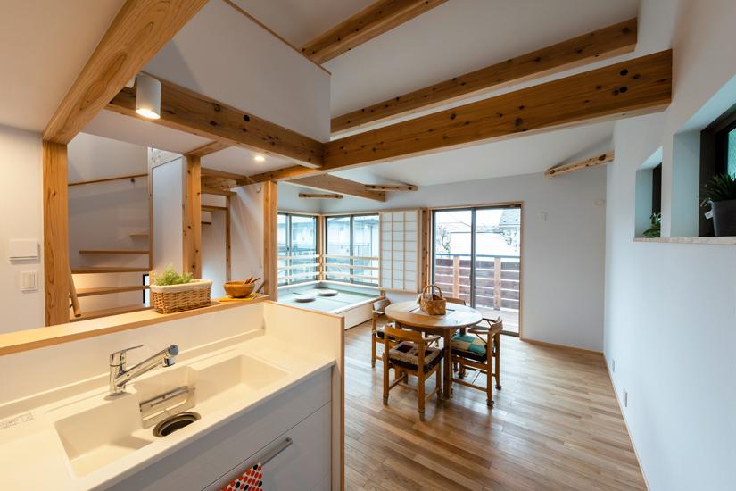 5施工事例 練馬区 注文住宅 自然素材の家