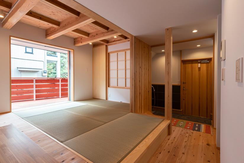 小上がりの家 施工事例 岡庭建設4
