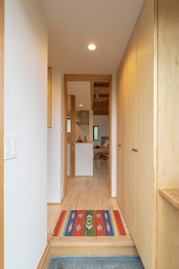 正方の家 施工事例 西東京市 玄関