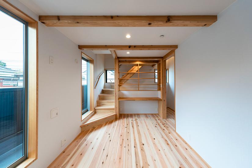 小上がりの家 施工事例 岡庭建設9
