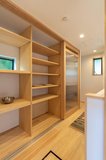 正方の家 施工事例 西東京市 キッチン 収納 造作家具