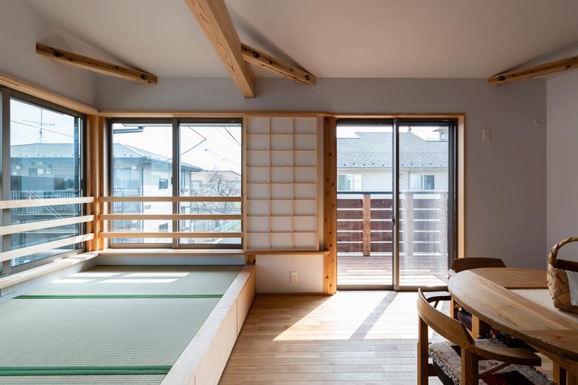 8施工事例 練馬区 注文住宅 自然素材の家
