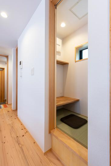 小上がりの家 施工事例 岡庭建設8