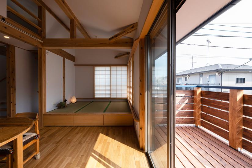 9施工事例 練馬区 注文住宅 自然素材の家