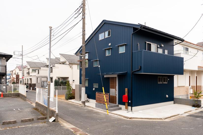 2施工事例 練馬区 注文住宅 自然素材の家
