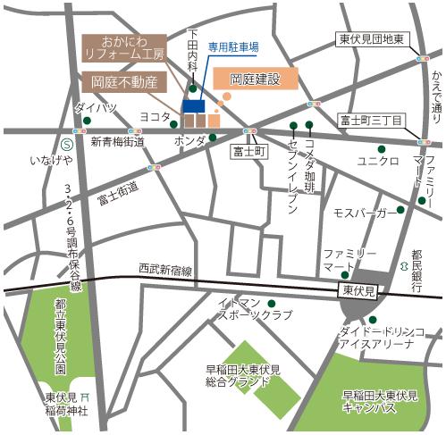 新会社地図
