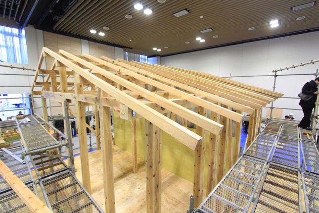 応急仮設木造住宅 東京 岡庭建設