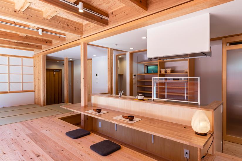 小上がりの家 施工事例 岡庭建設7