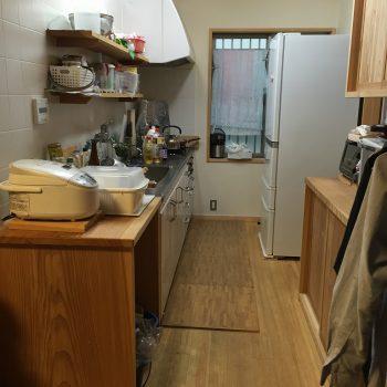 キッチン全景 before