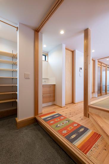 小上がりの家 施工事例 岡庭建設2