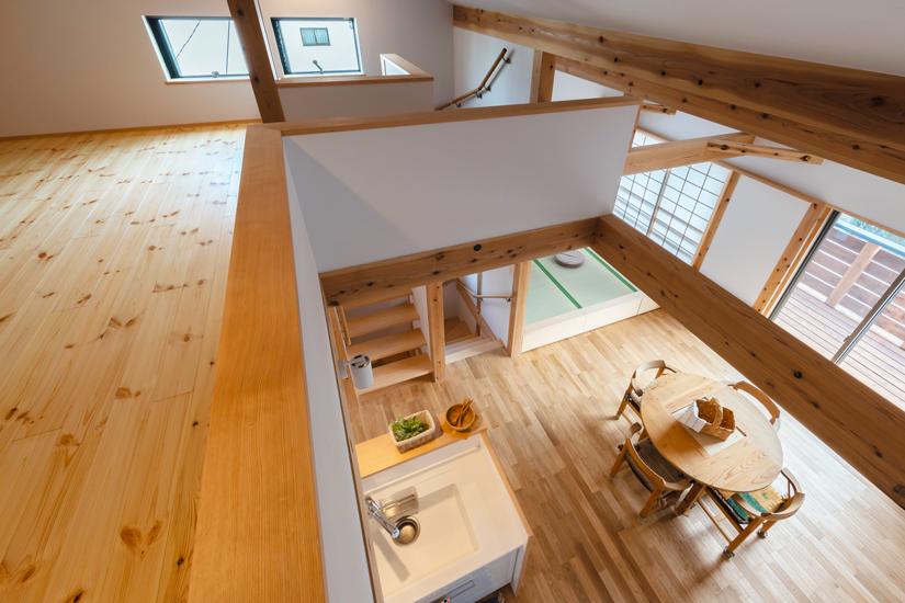 11施工事例 練馬区 注文住宅 自然素材の家