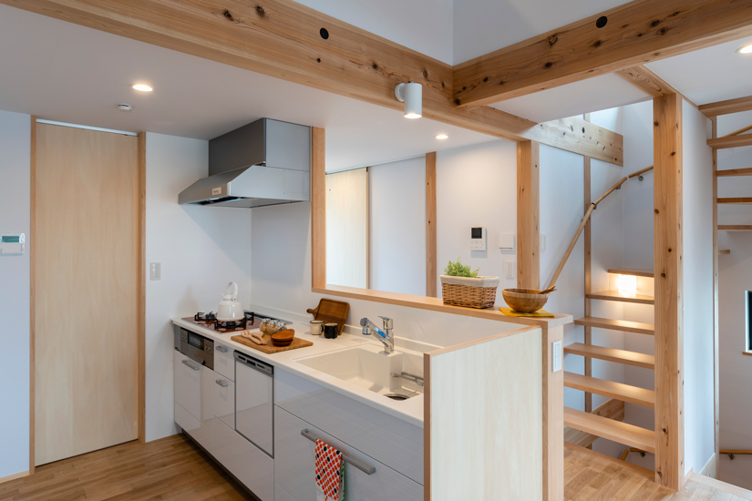 6施工事例 練馬区 注文住宅 自然素材の家