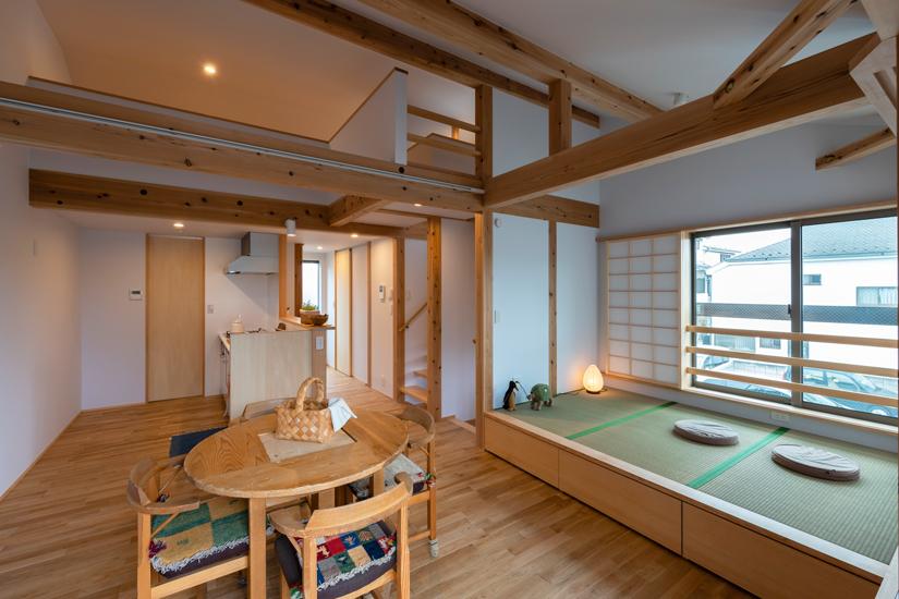7施工事例 練馬区 注文住宅 自然素材の家