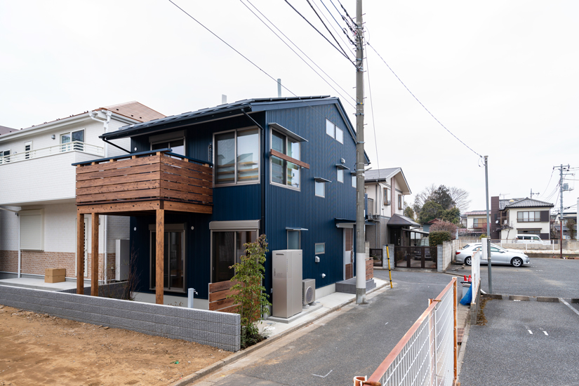 1施工事例 練馬区 注文住宅 自然素材の家
