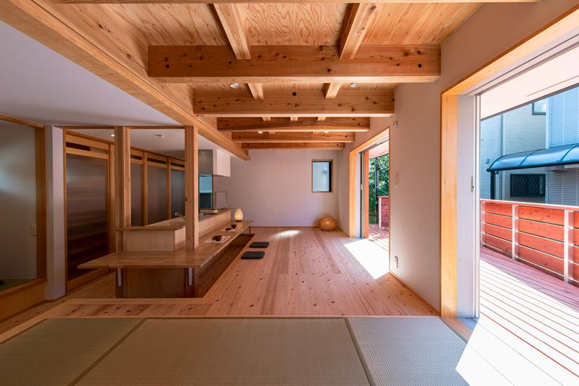 小上がりの家 施工事例 岡庭建設6