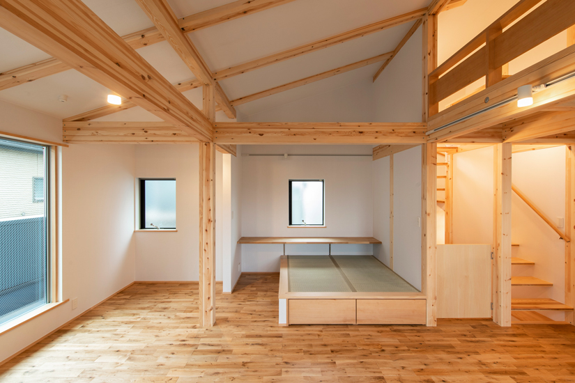 岡庭建設施工事例6 小上がり畳 和室
